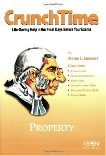 Property  2nd 2005 (Student Manual, Study Guide, etc.) 9780735540095 Front Cover
