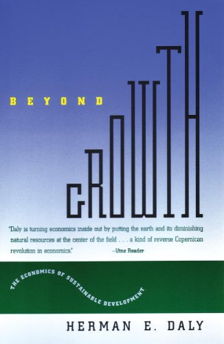 Beyond Growth The Economics of Sustainable Development  1997 edition cover
