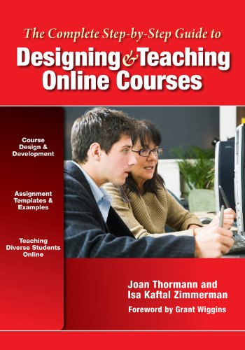 Complete Step-by-Step Guide to Designing and Teaching Online Courses   2012 edition cover