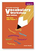 Vocabulary Workshop : Level D 1st 2005 9780821571095 Front Cover