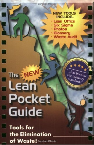The New Lean Pocket Guide: Tools for the Elimination of Waste!  2007 edition cover