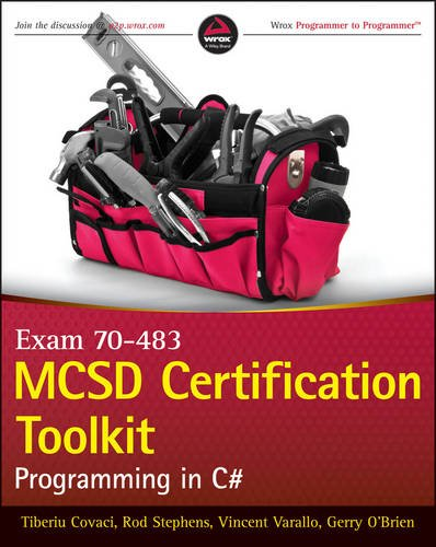 MCSD Certification Toolkit (Exam 70-483) Programming in C#  2013 edition cover