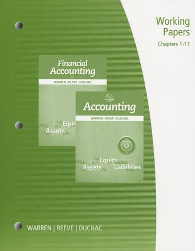 Financial Accounting  25th 2014 edition cover