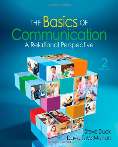 Basics of Communication A Relational Perspective 2nd 2012 edition cover