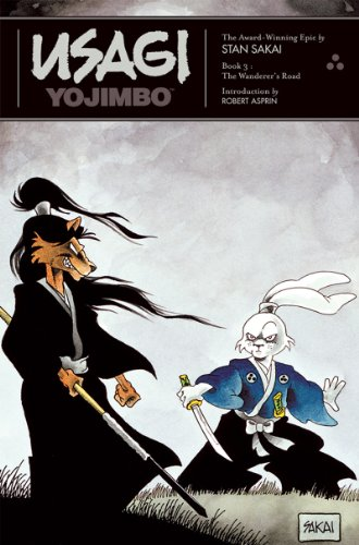 Usagi Yojimbo The Wanderer's Road  1989 9781560970095 Front Cover