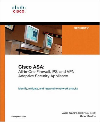 Cisco ASA All-in-One Firewall, IPS, and VPN Adaptive Security Appliance  2006 edition cover