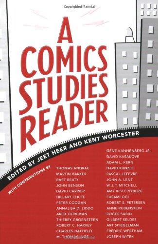 Comics Studies Reader   2008 edition cover