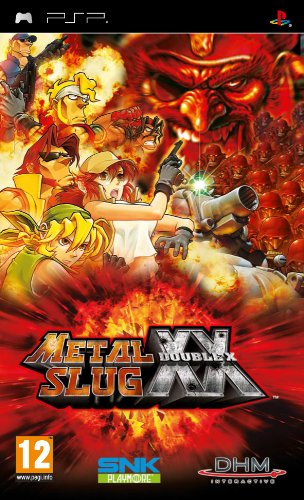 Metal Slug XX Sony PSP artwork