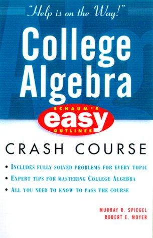 College Algebra   2000 (Abridged) edition cover