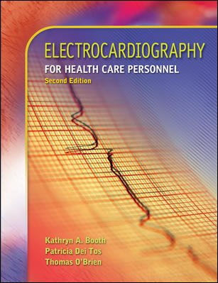 Electrocardiography for Health Care Personnel  2nd 2008 9780073302096 Front Cover