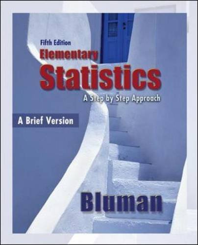 Elementary Statistics: A Brief Version A Brief Version 5th 2010 edition cover