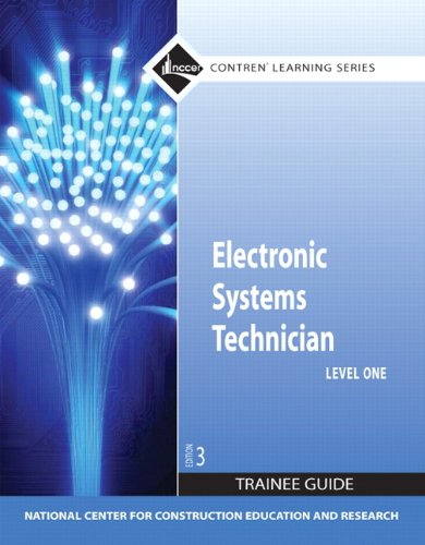 Electronic Systems Technician, Level 1  3rd 2010 edition cover