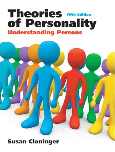 Theories of Personality Understanding Persons 5th 2008 edition cover