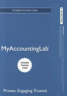 Myaccountinglab Proven, Engaging, Trusted 6th 2012 edition cover