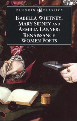Renaissance Women Poets   2000 edition cover
