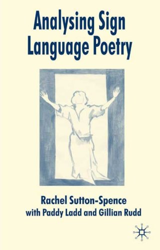 Analysing Sign Language Poetry   2005 edition cover
