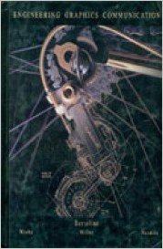 Engineering Graphics Communication 1st (Revised) 9780256213096 Front Cover