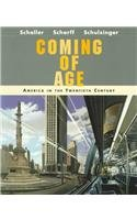 Coming of Age America in the Twentieth Century  1998 edition cover