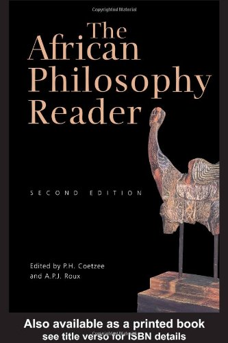 African Philosophy Reader  2nd 2004 (Revised) edition cover