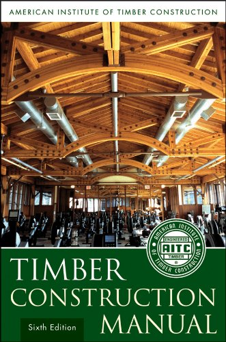Timber Construction Manual  6th 2012 edition cover