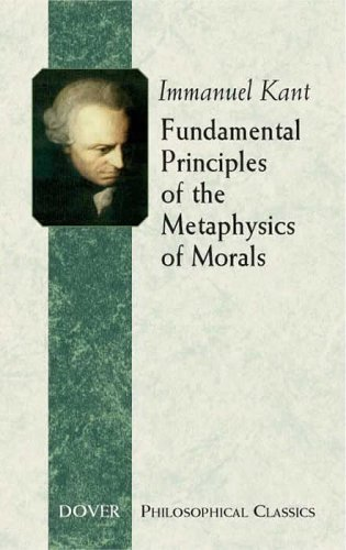 Fundamental Principles of the Metaphysics of Morals   2005 edition cover