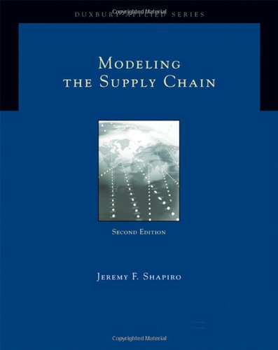 Modeling the Supply Chain  2nd 2007 edition cover