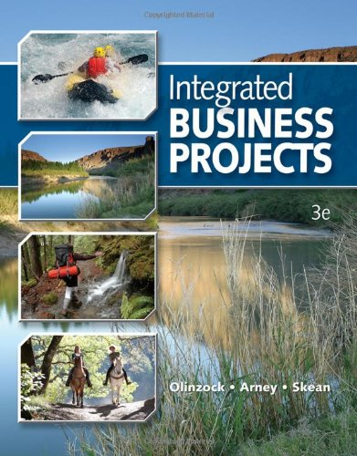 Integrated Business Projects  3rd 2011 (Revised) 9780538731096 Front Cover