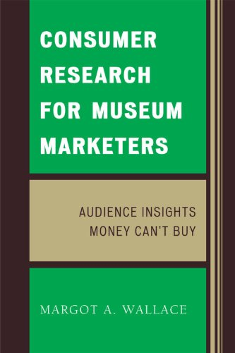 Consumer Research for Museum Marketers Audience Insights Money Can't Buy  2009 9780759118096 Front Cover