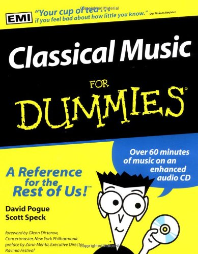 Classical Music for Dummies�   1997 edition cover