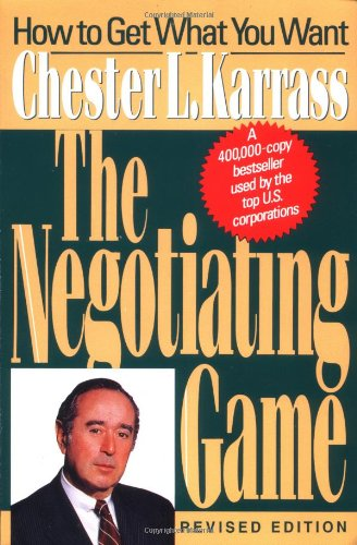 Negotiating Game  2nd (Revised) edition cover