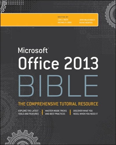 Office 2013 The Comprehensive Tutorial Resource 4th 2013 edition cover
