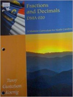 FRACTIONS+DECIMALS DMA 020 >CUSTOM<     N/A 9781285133096 Front Cover