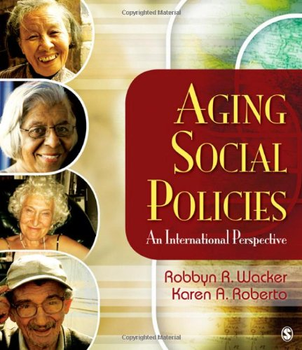 Aging Social Policies An International Perspective  2011 edition cover
