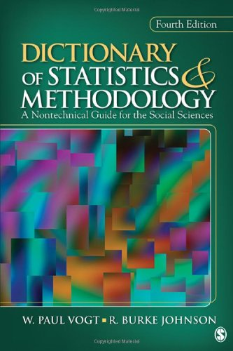 Dictionary of Statistics and Methodology A Nontechnical Guide for the Social Sciences 4th 2011 edition cover
