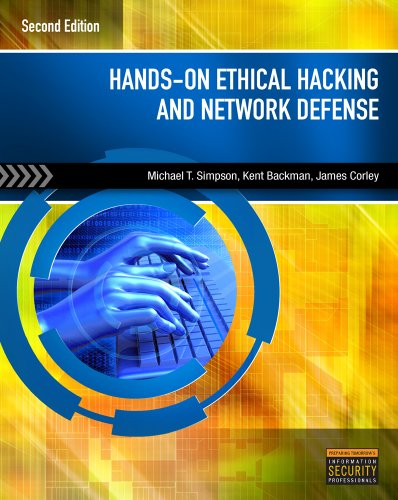 Hands-On Ethical Hacking and Network Defense  2nd 2011 edition cover