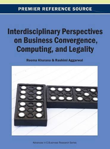 Interdisciplinary Perspectives on Business Convergence, Computing, and Legality   2013 edition cover
