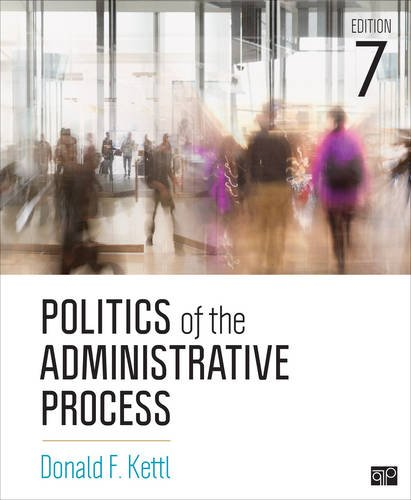 Politics of the Administrative Process:   2017 9781506357096 Front Cover