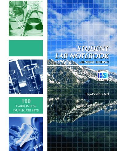 CHEMISTRY-STUDENT LAB.NOTEBOOK N/A edition cover