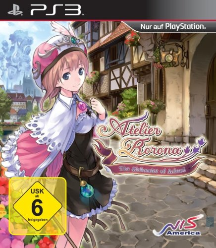 Atelier Rorona: The Alchemist of Arland PlayStation 3 artwork