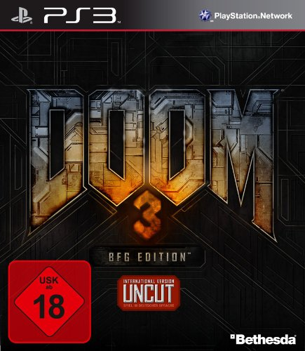 DOOM 3: BFG Edition PlayStation 3 artwork