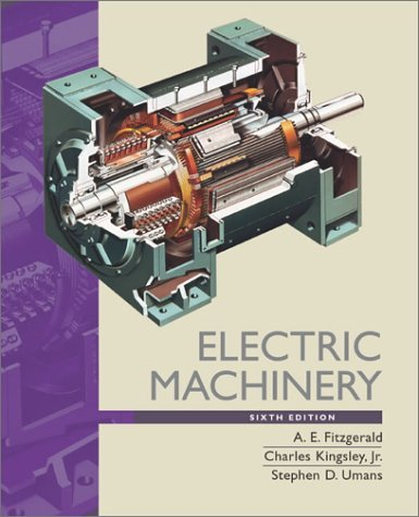 Electric Machinery  6th 2003 (Revised) edition cover
