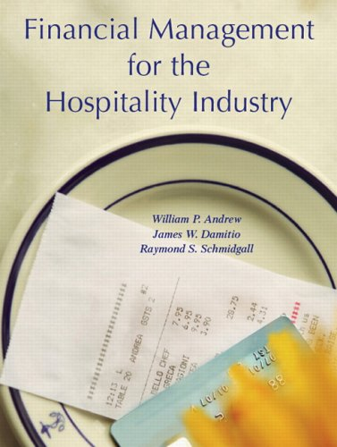Financial Management for the Hospitality Industry   2007 edition cover