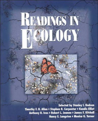 Readings in Ecology   1999 edition cover