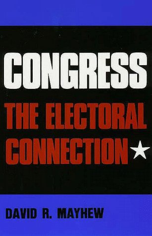 Congress The Electoral Connection  1974 9780300018097 Front Cover