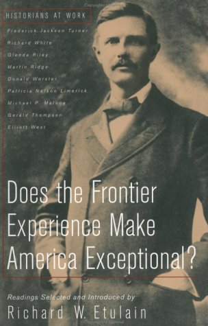 Does the Frontier Experience Make America Exceptional?   1999 edition cover