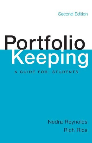 Portfolio Keeping A Guide for Students 2nd 2006 (Student Manual, Study Guide, etc.) edition cover