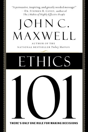 Ethics 101 What Every Leader Needs to Know  2003 edition cover