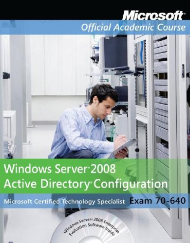 Planning, Implementing and Maintaining a Microsoft Windows Vista Server Active Directory Infrastructure, Textbook N/A 9780470225097 Front Cover