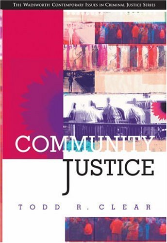 Community Justice   2003 9780534534097 Front Cover