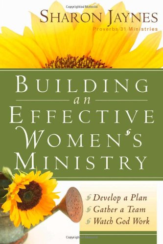 Building an Effective Women's Ministry   2005 edition cover